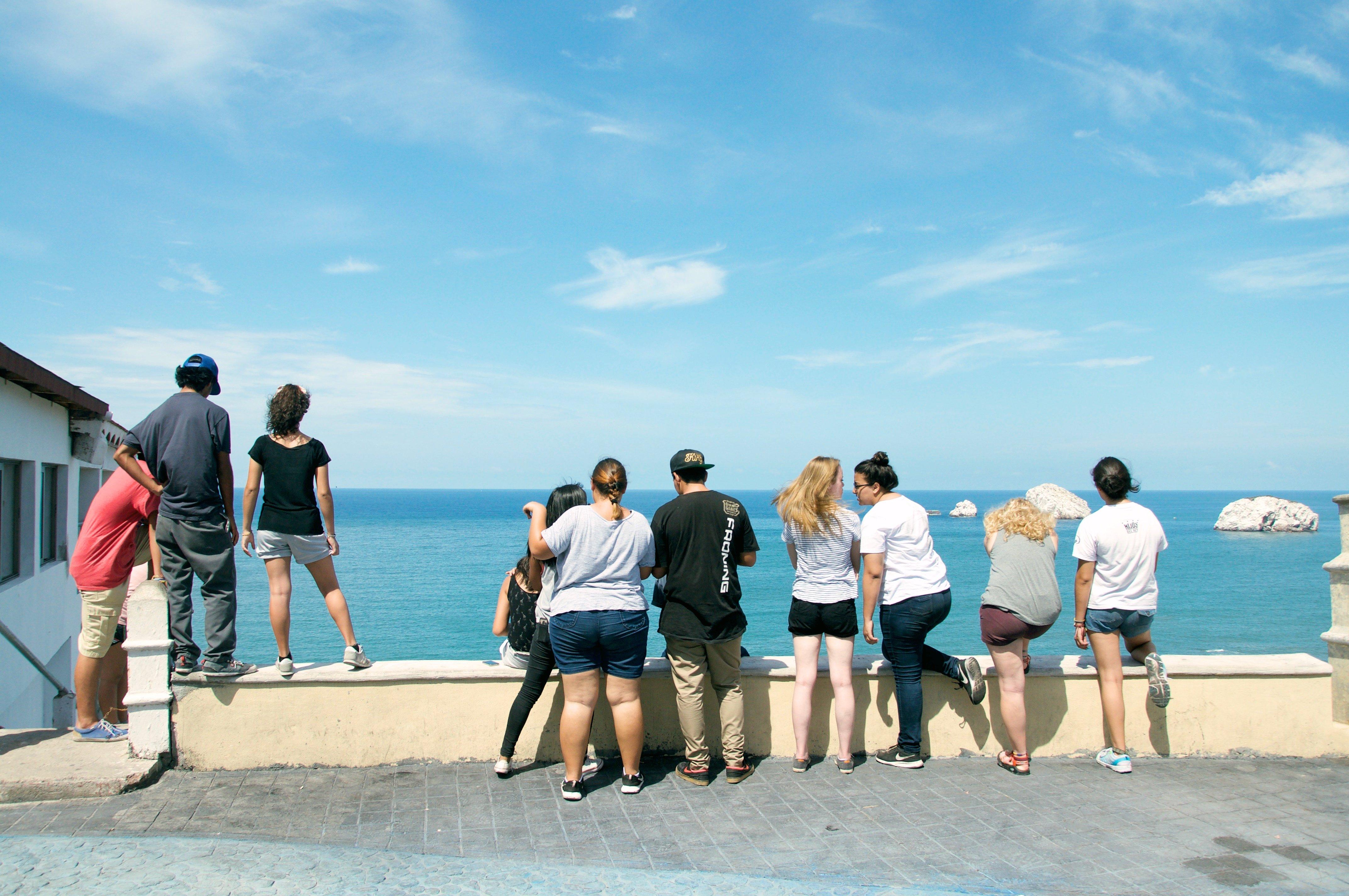 Looking Over the Ocean-1