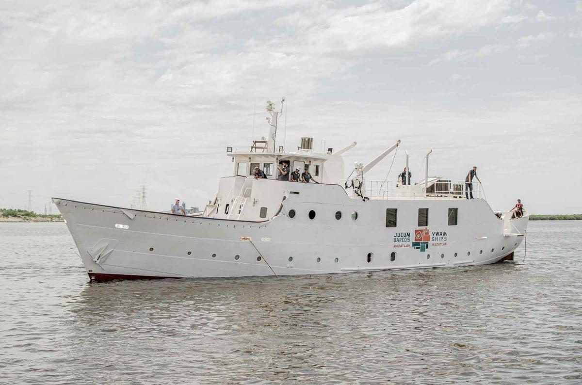 YWAM Ships Mazatlan water