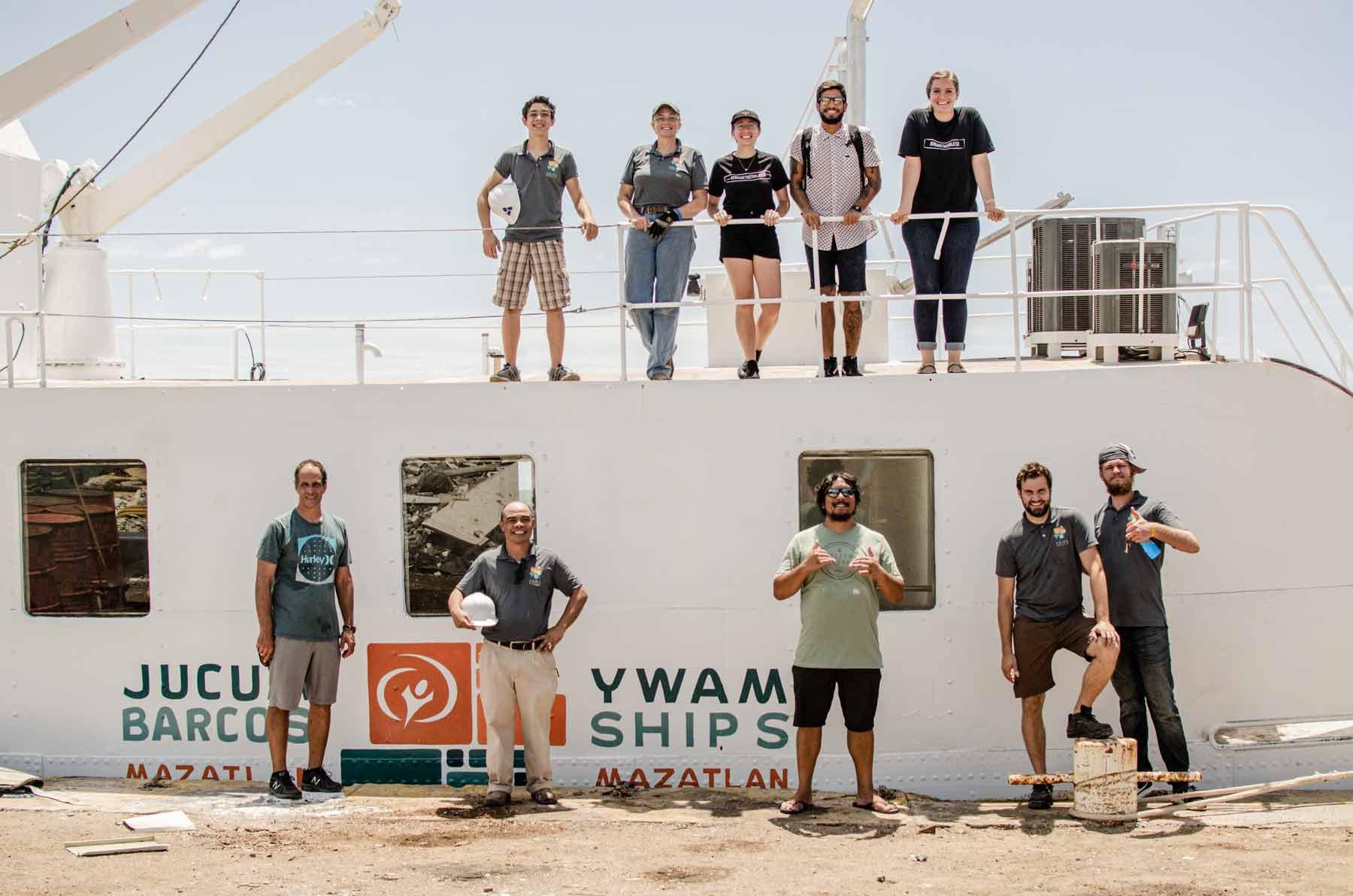 YWAM Ships Mazatlan Family