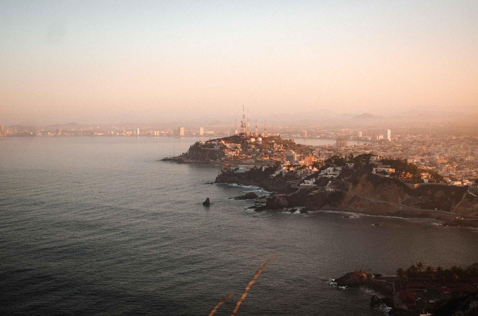 Mazatlan Faro Lighthouse Sunrise